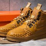 Зимние кроссовки Nike LF1 Duckboot, рыжие, ботинки, термо, термоботинки, новинка