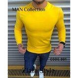 Мужской стильный батник, кофта, футболка с длинным рукавом , цвета