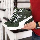 Puma Suede кроссовки зимние ботинки