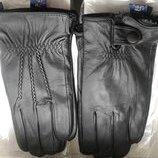Кожаные мужские перчатки Румуния Сенсорные