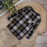 Стильная натуральная блуза от Marks & Spencer рр 14 наш 48