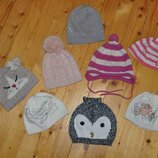 шапки Jamiks, Mothercare, George, JOJO, на 3-5 лет