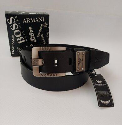 ремень Armani кожаный