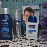 Мини набор дорожный для мужчин Nivea нивеа дезодорант-антиперспирант гель для душа бальзам