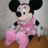 Мягкая плюшевая игрушка обнимашка Минни Маус Minnie mouse disney Америка