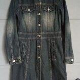 Джинсовый плащ. джинсовка . джинсовое платье
