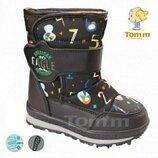 Зимние сапожки на мальчика Том.м дутики Tom.m чоботи на хлопчика зимові термоботинки ботинки