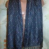 Стильний нарядний фирменний шарф Германия бренд TCM Tchibo.м-л-хл .