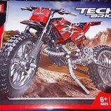 Конструктор Decool 3373 Techniс Кроссовый горный мотоцикл 2-в-1 253 дет