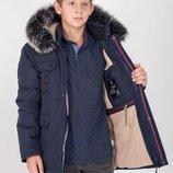 куртка зимняя на овчине на мальчика