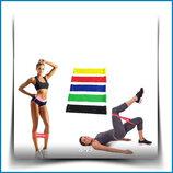 Набор из 5 фитнес-резинок для тренировок мешочек