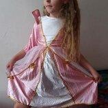 Платье принцессы 5-7 лет в садик на утренник