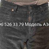 Джинсы Wrangler Серые Вельвет A368 р-ры 33, 34, 36,36, 38,38, 40
