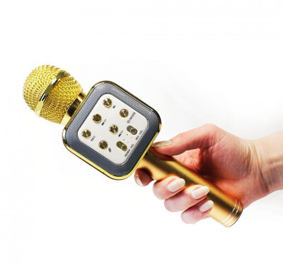 Микрофон - Караоке с динамиком Bluetooth WS-1818