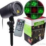 Уличный лазерный проектор moving garden laser light Новинка 2019г
