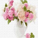 Картина по номерам. Brushme Нежный букет цветов GX29428