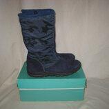 Сапоги термо Ricosta Sympa-Tex 32 размер по стельке 20,5 см.Кожаные, Зимние .Высота 25 см. Привезены