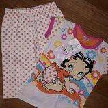 Пижама девочкам 4-6лет