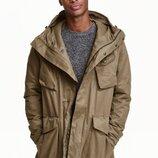 Парка куртка H&M рS M стильная и крутая моделька