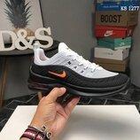Бесплатная доставка. Как оригинал. Мужские Кроссовки Nike Axis 98 KPU серо/черные KS 1277