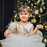 Пышные нарядные выпускные бальные детские платья