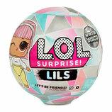 Кукла lol l.o.l лол Lils Winter Disco Малыши лилс lils оригинал 559672