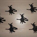 Заготовка из фетра - Ведьма для праздника Хэллоуин