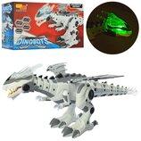 Игрушка Робот динозавр м Динобот Dinobot ходит, звуковые и световые эффекты, Dino World