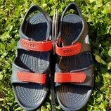 сандалии на мальчика крокс оригинал босоножки crocs Swiftwater River Sandal Детские босоножки crocs