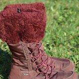 Термо ботинки сапоги Primigi Gore-TEX 34р. кожа