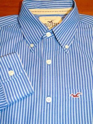 HOLLISTER Шикарная брендовая рубашка - S - M