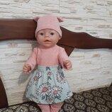Одежда для куклы Беби Борн. Ручная работа