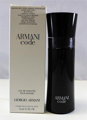 Мужская туалетная вода Armani Code Giorgio Armani tester