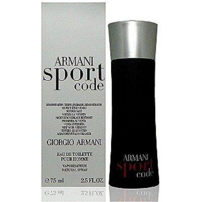 Мужская туалетная вода Armani Code Sport tester