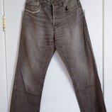 коричневые джинсы Angelo Litrico размер 30 32 под вельвет