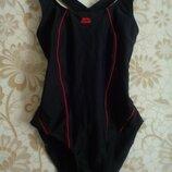 12 м 40 черный спортивный цельный купальник для бассейна спорта