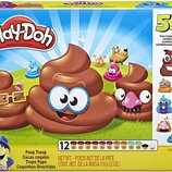 Play-Doh Набор какашки и 12 банок пластилина E5810 Poop Troop Set with 12 Cans