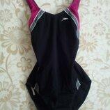 12-14 speedo стильный спортивный цельный купальник для бассейна фитнеса