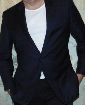 Стильний нарядний брендовий пиджак Dugdale Bros &Co.л .50-52