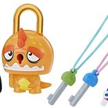 Hasbro Lock Stars S1 Замочки с секретом Оранжевый динозавр E3170 Basic Assortment Orange Dinosaur