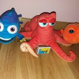 Мягкая игрушка осьминог Хэнк персонаж из мультфильма Нэмо Немо Дори от Дисней Disney...