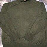 Шерстяной тонкий джемпер, свитер,реглан, актуальный цвет