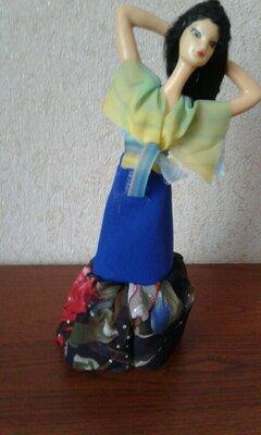 Кукла Ссср Цыганка Аским паричковая