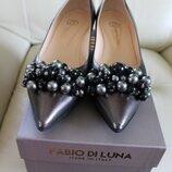 Італійські шкіряні туфлі Fabio di Luna