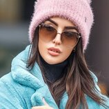 Теплая стильная шапка 241