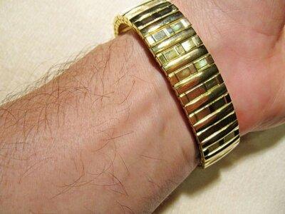 Браслет-Резинка для часов из нержавеющей стали, новый