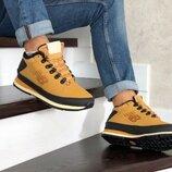 Зимние мужские ботинки New Balance 754 горчичные