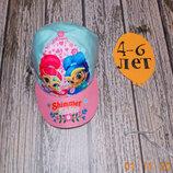 Фирменная кепка для девочки 4-6 лет, 52-54 см