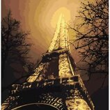 Картина по номерам идейка. Городской пейзаж В красках ночного города 40х50см KHO2190