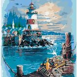 Картины по номерам Тихая гавань KHO2724